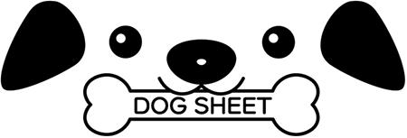 超大判サイズのペット用ウェットシート DOG SHEET ドッグシート🄬